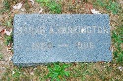 Sarah Ann <i>Davis</i> Yarrington