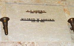 Mildred W Ashford