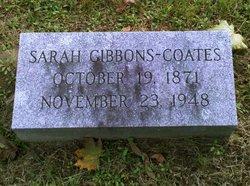 Sarah <i>Gibbons</i> Coates