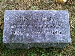 Rose <i>Sherry</i> Benson