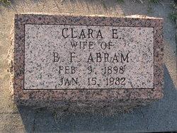 Clara Etta <i>Maxwell</i> Abram