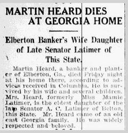 Luther Martin Heard