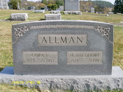 Cora Virginia <i>Rinehart</i> Allman