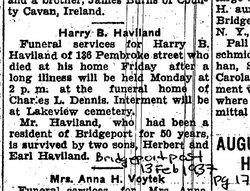 Harry Budd Haviland