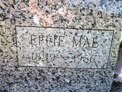 Effie Mae <i>Rudd</i> Baker
