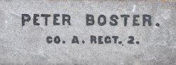 Pvt Peter Bostler
