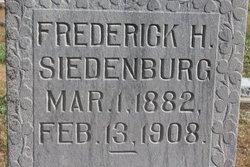Frederick H. Siedenburg