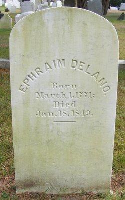 Capt Ephraim Delano