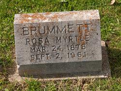 Rosa Myrtle <i>Skimmerhorn</i> Brummett