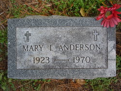 Mary Ione <i>VanSickle</i> Anderson