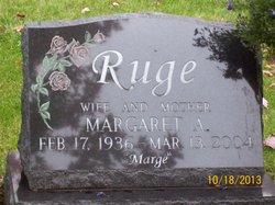 Margaret A. <i>Zacharek</i> Ruge