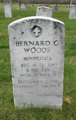Bernard G Woods