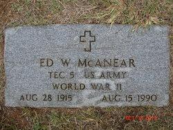 Ed William McAnear