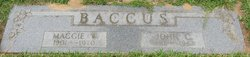 Maggie <i>Winslow</i> Baccus