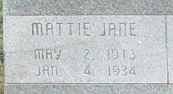Mattie Jane Anderson