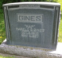 Harold George Hap Gines