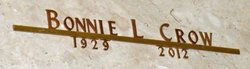 Bonnie Lou <i>Phillips</i> Crow