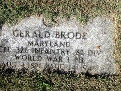 Gerald Francis Brode, Sr