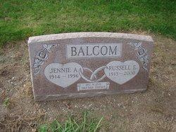 Jennie A. <i>Quiett</i> Balcom