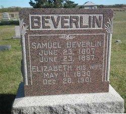 Mrs Elizabeth <i>Bonnell</i> Beverlin