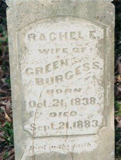 Rachel Elizabeth <i>Braden</i> Burgess