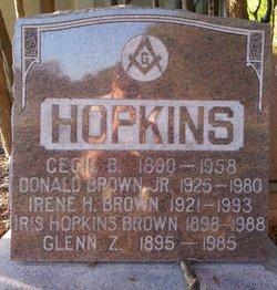 Iris Rose <i>Hopkins</i> Brown