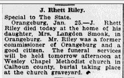 Jacob Rhett Riley