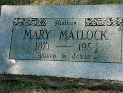 Mary Katherine <i>Brumett</i> Matlock