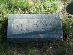 Alice Thelma <i>Ferris</i> Lamunion