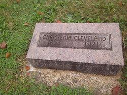 Christinia <i>Davis</i> Cleveland