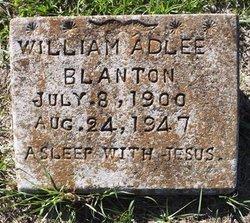William Adlee Blanton