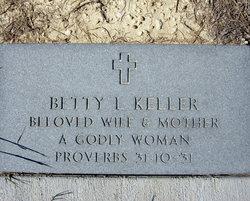 Betty Lee <i>Cantrell</i> Keller