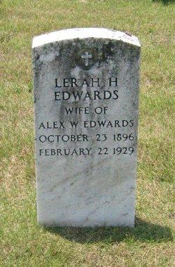 Lerah H Edwards