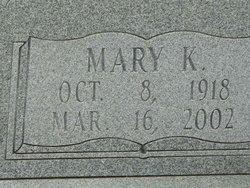Mary Florence <i>King</i> Durrough