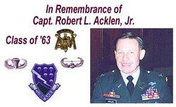 Capt Robert Livingston Bob Acklen, Jr
