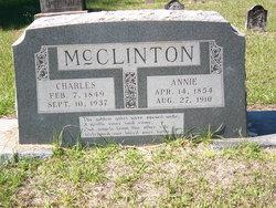 Sarah Annie <i>Burk</i> McClinton