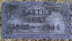 Martha <i>Ness</i> Aune