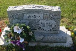 Sharon Rose <i>Jackson</i> Barnes