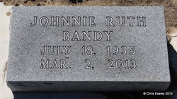 Johnnie Ruth <i>Boone</i> Bandy