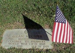 Col Allan McCluer