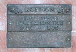 Pamala Bernice Robison