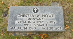 Chester W Howe