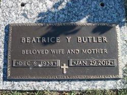 Beatrice Yvonne <i>Fickling</i> Butler