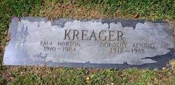 Dorothy R <i>Kendig</i> Kreager