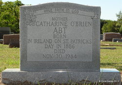 Catharine Patricia <i>O'Brien</i> Abt