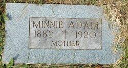 Minnie <i>Schmitt</i> Adam