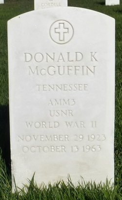 Donald K McGuffin