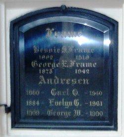 Evelyn C Eva <i>Frame</i> Andresen