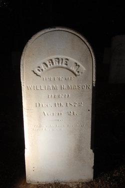 Carrie M Mason