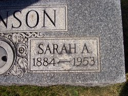Sarah Alice <i>LeVan</i> Atkinson